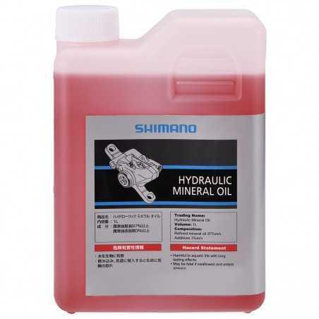 SHIMANO - OLIO MINERALE IDRAULICO - 1Lt Lubrificante per freni