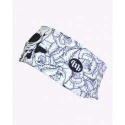 MB WEAR - FASCETTE - Head band White skull