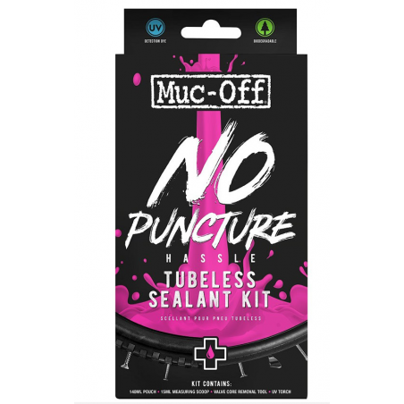 KIT ANTIFORATURE PER TUBELESS MUC-OFF 140 ML