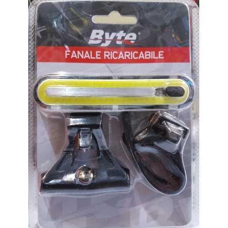 BYTE - FANALE RICARICABILE - 250 Lumen Fanalino Anteriore
