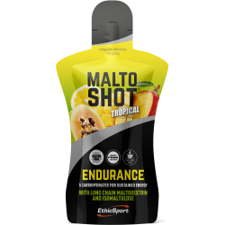 ETHICSPORT MALTOSHOT ENDURANCE GUSTO TROPICAL - MONODOSE DA  50ml