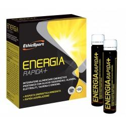 ETHICSPORT ENERGIA RAPIDA +  ENERGIA LIQUIDA IN CARTUCCE 10 FLACONI DA 25 ml