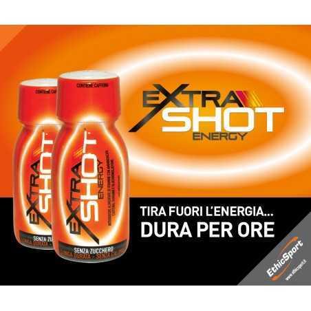 ETHICSPORT EXTRASHOT ENERGY FLACONCINO DA 60ml TIRA FUORI L'ENERGIA