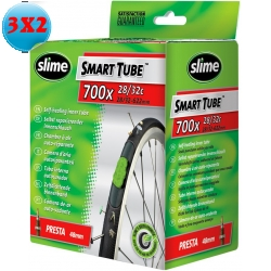 CAMERA D'ARIA 700X28/32C SLIME SMART TUBE CON SIGILLANTE