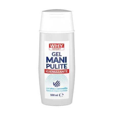 GEL MANI PULITE Gel detergente igienizzante mani senza risciacquo